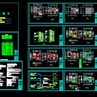 某别墅电气毕业设计施工图(含计算书)