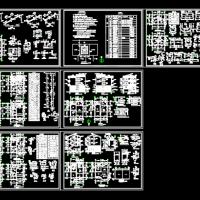 9.0x11三层农村自建房建筑及结构全套图